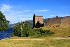Urquhart Castle and Loch Ness, Scotland Royalty Free Stock Images