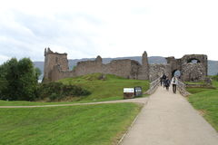 Urquhart Castle on Loch Ness Stock Photography