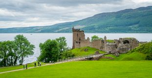 Free Urquhart Castle On Loch Ness In The Scottish Highlands. Royalty Free Stock Image - 109669306