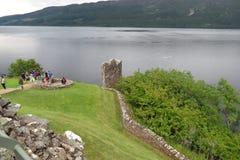 Urquhart Castle, Scotland Stock Photos