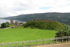 Urquhart Castle, Scotland Stock Photo