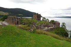 Urquhart Castle, Scotland Stock Images