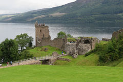 Urquhart Castle, Scotland Royalty Free Stock Photography