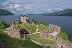 Urquhart Castle, Scotland Stock Photography