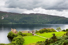 Urquhart Castle Scotland Stock Photo