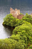 Urquhart Castle Scotland Royalty Free Stock Photos