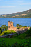 Urquhart Castle, Scotland. Ruins of Urquhart Castle with Loch Ness in the background, Scotland Stock Photo