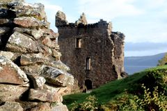 Urquhart Castle, Scotland Royalty Free Stock Photo