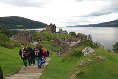 Urquhart Castle, Scotland Royalty Free Stock Photos