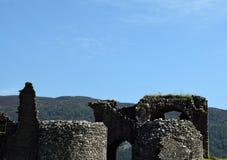 Urquhart Schloss Lizenzfreie Stockfotos