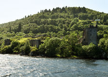 Urquhart-Schloss - Loch Ness Stockfotos