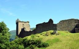 Urquhart-Schloss - Loch Ness Stockbild
