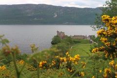 Urquhart Schloss, Loch Ness, Schottland Stockfotografie