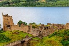 Urquhart slott Royaltyfria Foton