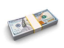�urrency strap of ten thousand dollars Stock Photo