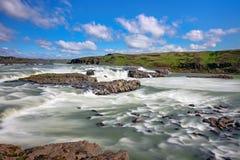 Urridafoss waterfall in Iceland Stock Photo