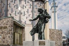 Urs de Marie-Reine-DES-CÅ de sanctuaire « photographie stock