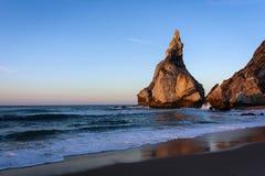 Ursa beach, a beach in Cascais stock image
