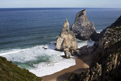 Ursa Beach in Sintra Royalty Free Stock Photography
