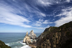Ursa Beach in Sintra Royalty Free Stock Image