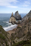 Ursa Beach in Sintra Stock Photography