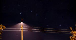 Ursa Major, una luz de calle imágenes de archivo libres de regalías