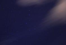 Ursa Major and Ursa Minor constellations Royalty Free Stock Images