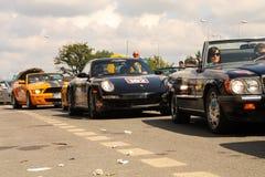 ursinne för 2009 race Arkivbild