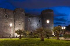 Ursino castle in Catania Sicily Italy Royalty Free Stock Photos
