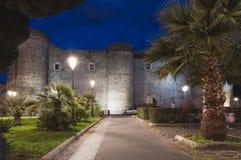ursino catania Италии Сицилии замока Стоковая Фотография