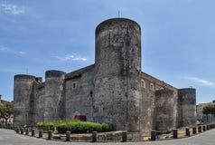 Ursino-Schloss in Catania Lizenzfreies Stockbild