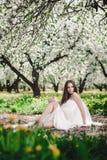 Ursnygg brunett Royaltyfri Bild