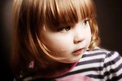ursnygg flicka little Royaltyfria Foton