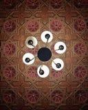 Ursnygg geometri royaltyfri fotografi