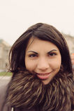 ursnygg kvinna Fotografering för Bildbyråer