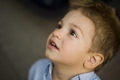 ursnygg pojke Royaltyfri Bild