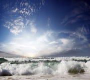 ursnygg sommartid för strand Royaltyfri Fotografi
