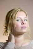 Ursnygg ung kvinna arkivbilder
