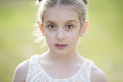 ursnyggt barn för flicka Fotografering för Bildbyråer
