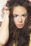 ursnyggt hår Arkivfoto