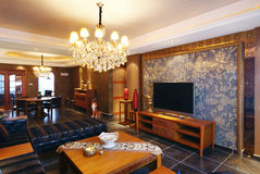 ursnyggt hus Royaltyfria Bilder