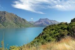Ursnyggt landskap av Nya Zeeland Fotografering för Bildbyråer