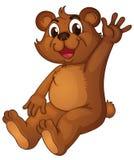 Urso Animated ilustração do vetor