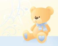 Urso azul Fotos de Stock Royalty Free