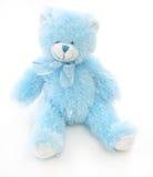 Urso azul da peluche Fotografia de Stock
