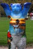 Urso azul do camarada Fotos de Stock