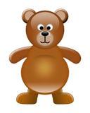Urso bonito ilustração stock