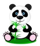 Urso bonito da panda ilustração royalty free