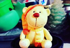 Urso bonito da peluche Foto de Stock