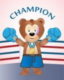 Urso - campeão Imagens de Stock Royalty Free